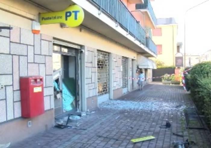 San Damaso: Fanno esplodere Postamat e fuggono col contante