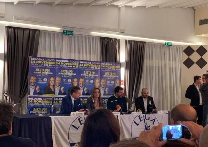 Regionali, tandem Salvini-Borgonzoni è sicuro: 'Si corre per vincere'