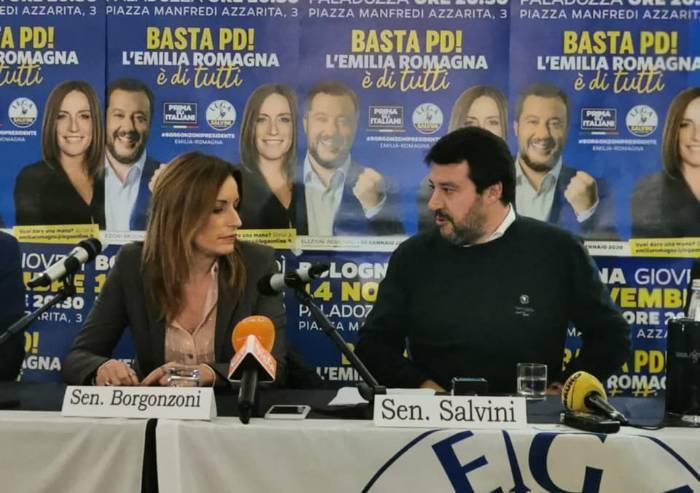 Regionali, ora Salvini fa appello anche agli elettori 5 Stelle