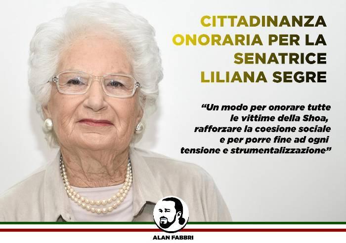 Segre: il sindaco leghista di Ferrara propone la cittadinanza onoraria