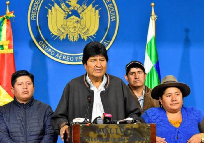 Bolivia: Evo Morales annuncia le sue dimissioni