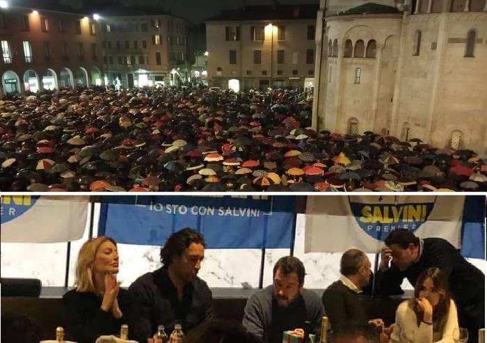 Salvini contro Bonaccini: la Lega a Modena perde anche secondo round