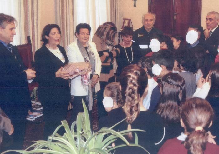 Unicef, il prefetto e il dottor Iughetti incontrano i bambini
