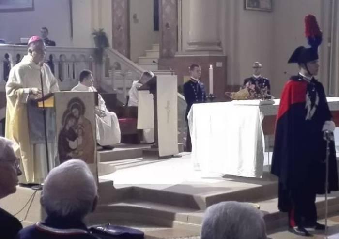 I Carabinieri rendono omaggio a Maria 'Virgo Fidelis'