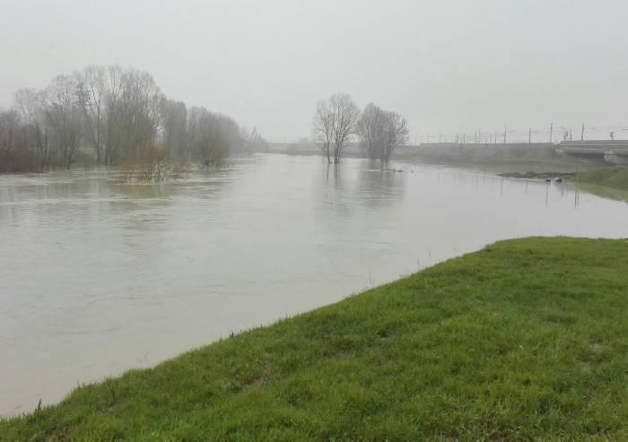 Maltempo: chiusi nuovamente i ponti sul Secchia