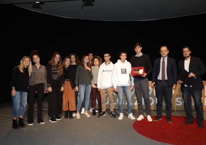 Divulgazione Scientifica, premiati i ragazzi al Bper Forum Monzani