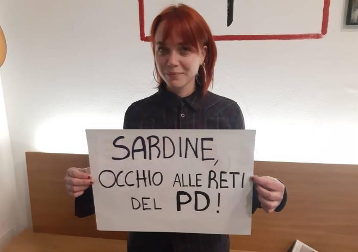 Potere al Popolo alle sardine: 'Lontano dal PD, schifo come Lega'