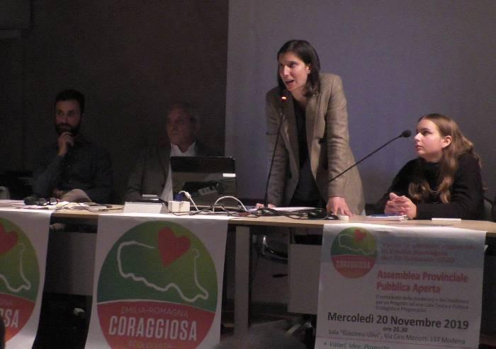 Emilia Romagna Coraggiosa: 'Con Bonaccini per transizione ecologica'