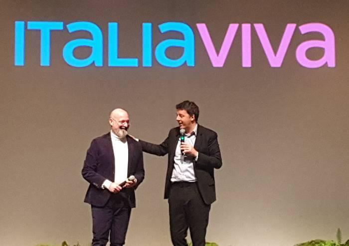 Bonaccini sul palco insieme a Renzi: riecco la vecchia coppia