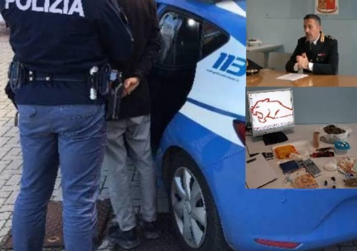 Sassuolo, droga e armi in autolavaggio: arrestati padre e figlio