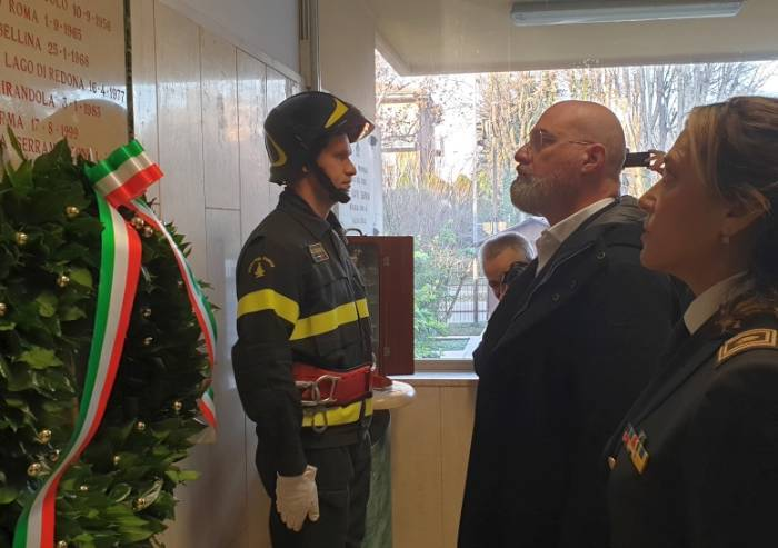 Santa Barbara, Modena festeggia i Vigili del fuoco