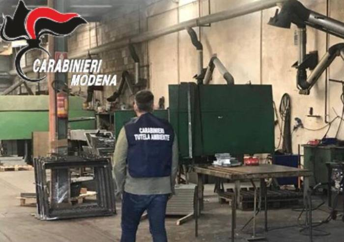 San Felice : chiusa officina, mancata sicurezza e lavoro nero