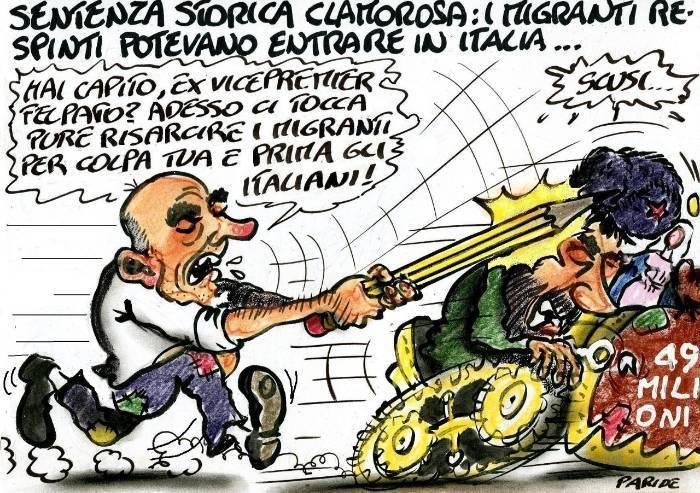 La sentenza e gli italiani prima di tutto