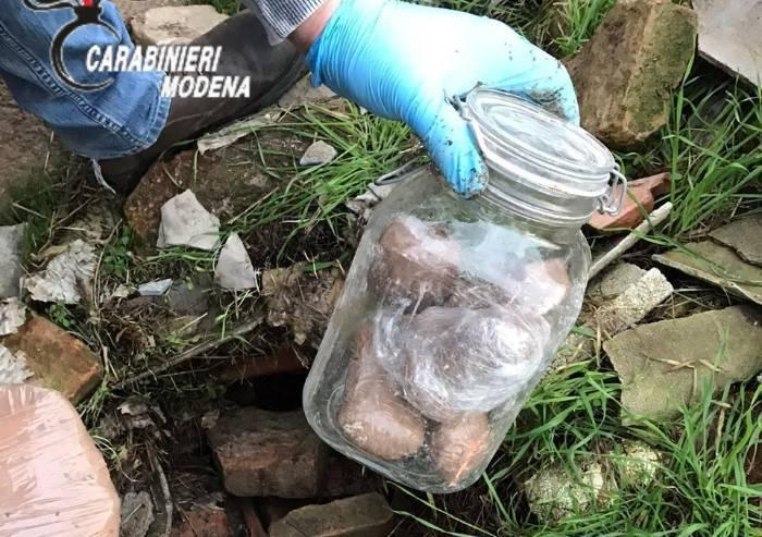 Carpi, carabinieri sequestrano cocaina per 300mila euro