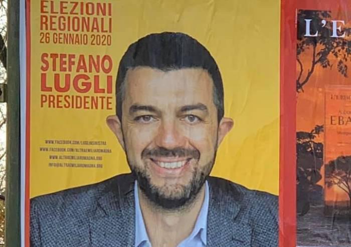 Regionali, vandalizzati cartelli di lista di sinistra anti-Bonaccini
