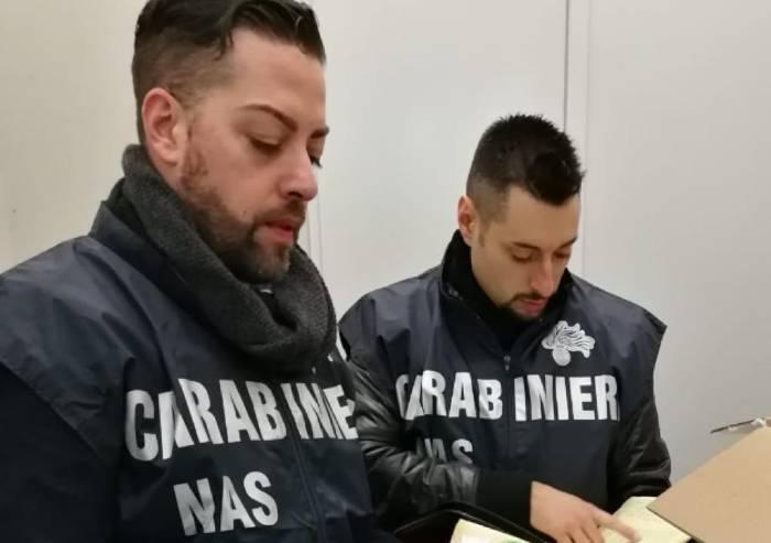 Pasticceria Vignola, Nas sequestrano 18 chili di panettoni artigianali