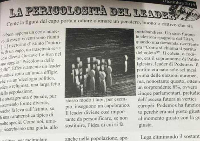 Gli studenti del Tassoni: 'Niente propaganda, no all'invito di Corti'