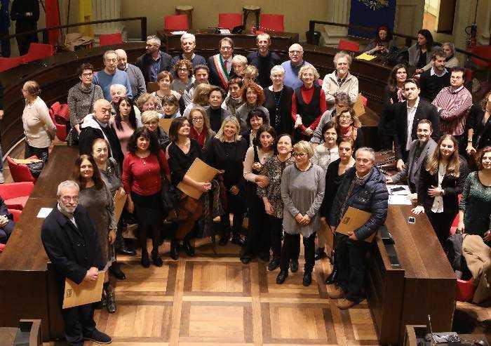 Comune Modena, saluto per i 104 dipendenti in pensione o trasferiti