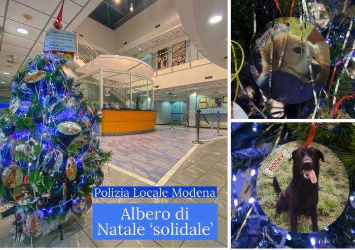 Polizia municipale, Natale di solidarietà verso gli amici a 4 zampe