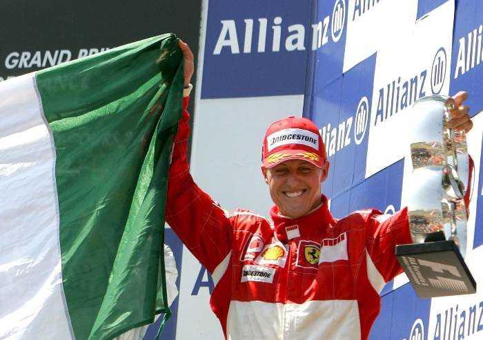 Domani compie gli anni Schumacher: 'Forza campione'