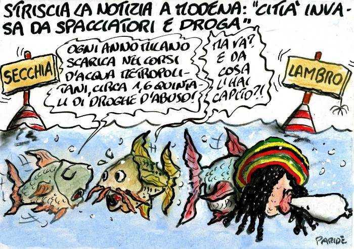 Per Striscia Modena è invasa dalla droga... E Milano?