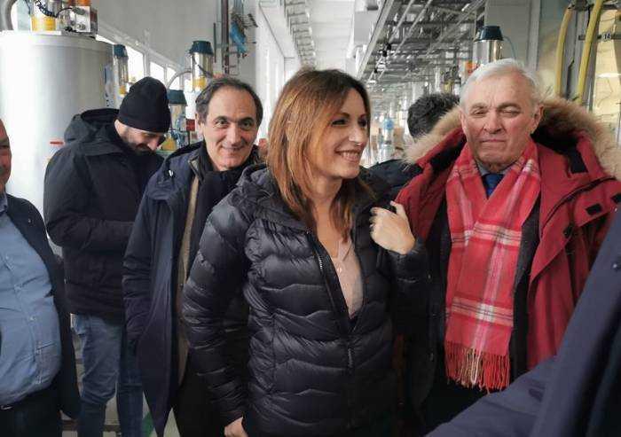 Borgonzoni a Mirandola lancia l'ospedale baricentrico con Carpi