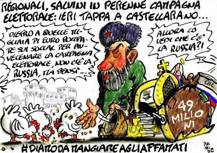 Salvini, cosa c'è dietro?