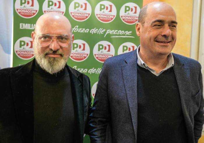 Zingaretti a La Repubblica: 'Vinciamo in Emilia e sciolgo il Pd'