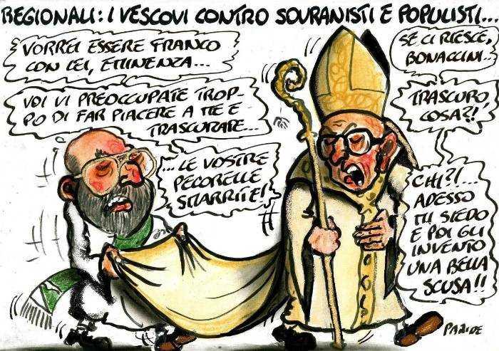 Pecorelle smarrite: i vescovi e Bonaccini