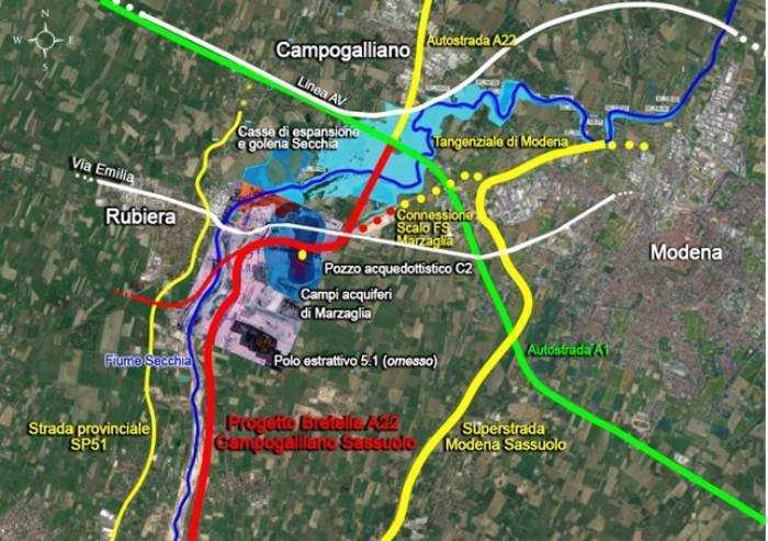 'Bretella Campogalliano-Sassuolo, gli effetti devastanti del progetto'
