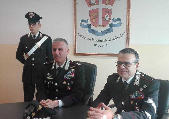 Castelvetro: sgominata la gang della cocaina