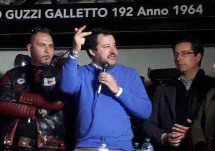Bibbiano, Salvini visita anticipata in attesa di giovedì: 'Quanto accaduto è una bestialità'