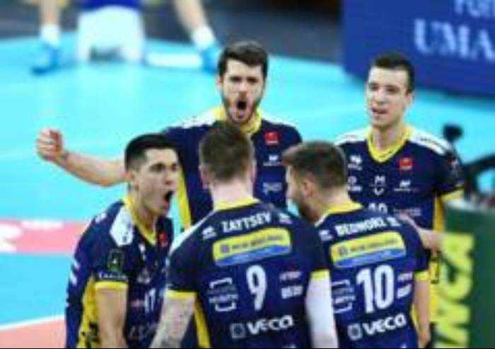 Leo Shoes Modena Volley vince 3-0 con Sora
