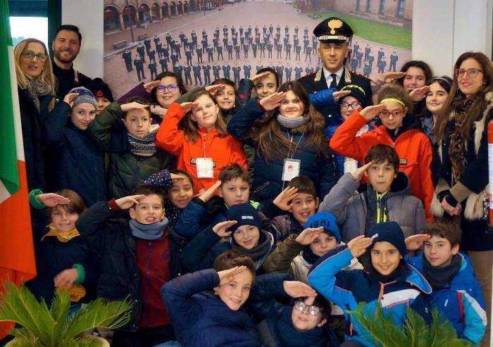 Carabinieri Carpi, gli studenti vistano la caserma