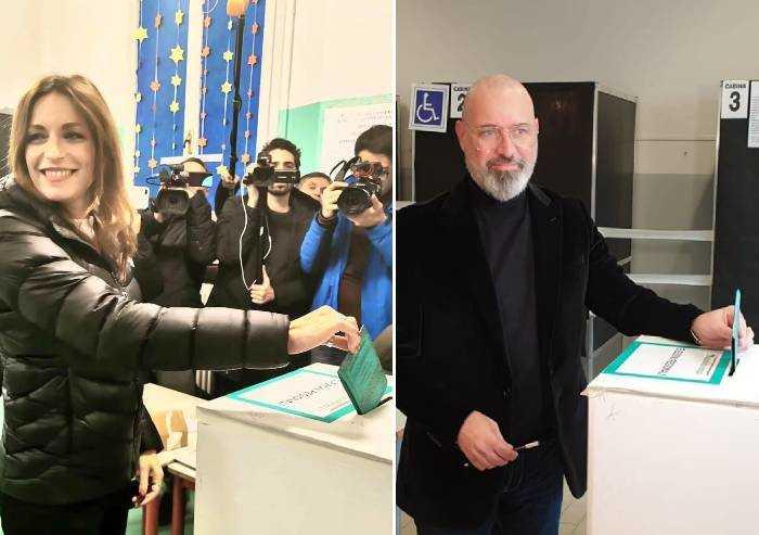 Silenzio elettorale addio: Borgonzoni e Bonaccini a raffica sui social