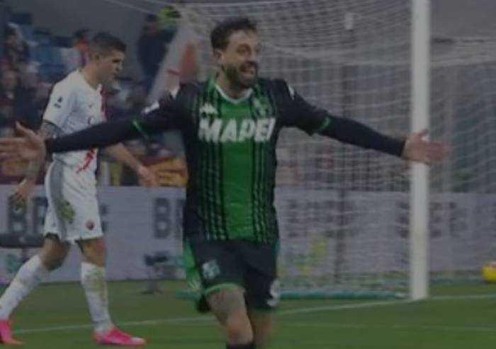 Sassuolo strepitoso, 4-2 alla Roma