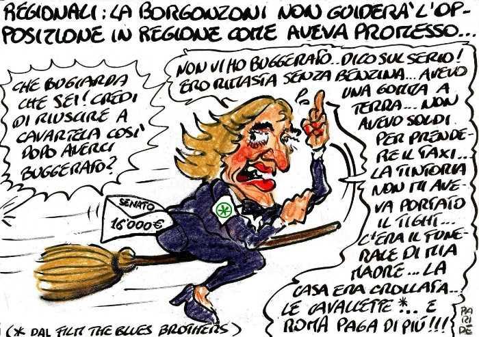 Le scuse della Borgonzoni