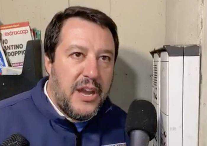 Salvini rivendica la citofonata: 'Le mamme mi hanno ringraziato'