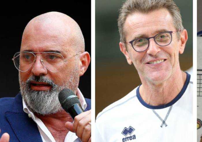 Lezioni di politica e pallavolo: a Modena Bonaccini e Lorenzetti