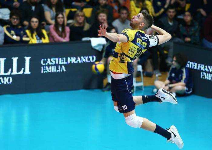 Palapanini straordinario, Modena Volley vola su Civitanova