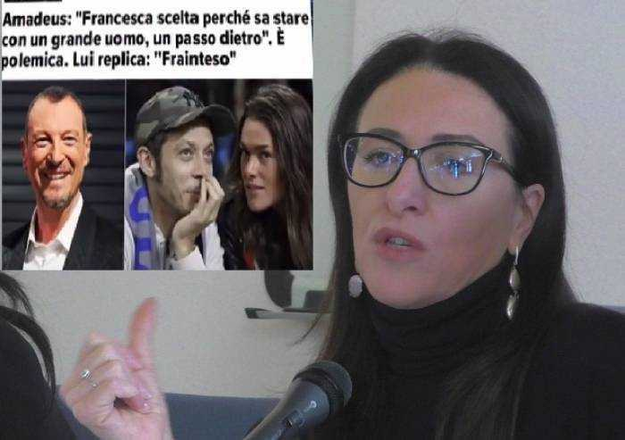 Modena, la presidente commissione femminicidi critica Amadeus: 'Grave frase sulle donne'