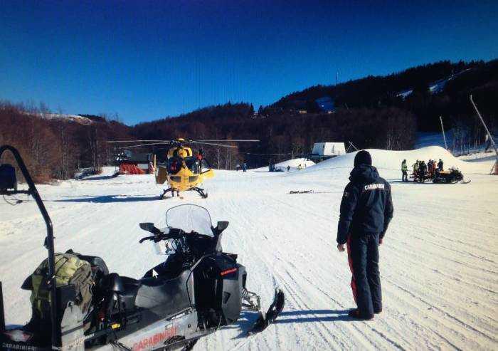 Due incidenti sulle piste da sci: soccorsi un 54enne e una 26enne