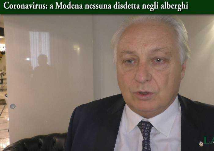 'Coronavirus, negli alberghi modenesi situazione tranquilla'