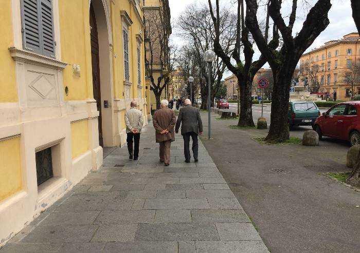 Italia, un Paese (in declino) di vecchi
