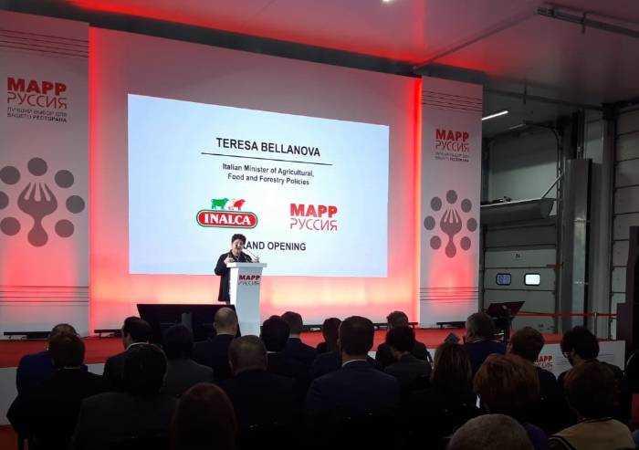 Inalca (Cremonini) inaugura nuova piattaforma distributiva in Russia