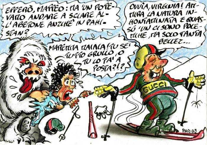 Le sciate di Renzi