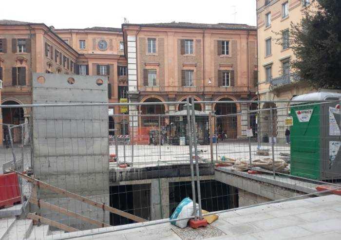 Lavori ex Diurno Modena, tutto bloccato