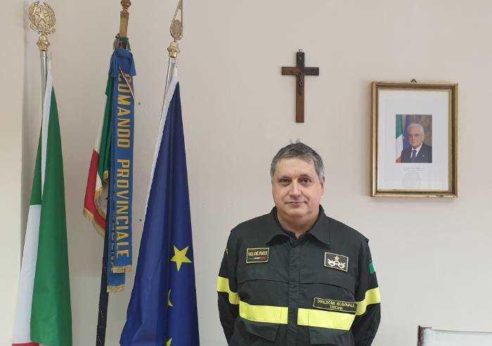 Vigili del fuoco Modena, Cusin nuovo comandante