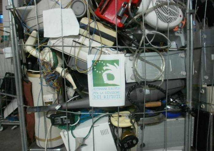 A Modena prodotti 1.705 tonnellate di elettrorifiuti