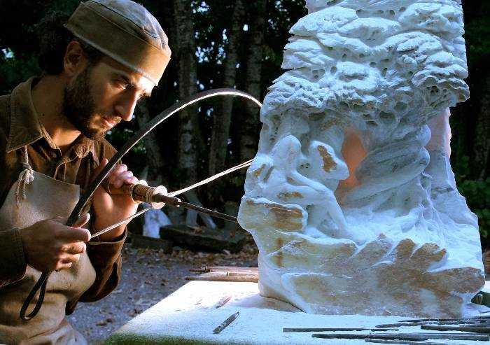 Dario Tazzioli, l'arte rinascimentale rivive a Frassinoro